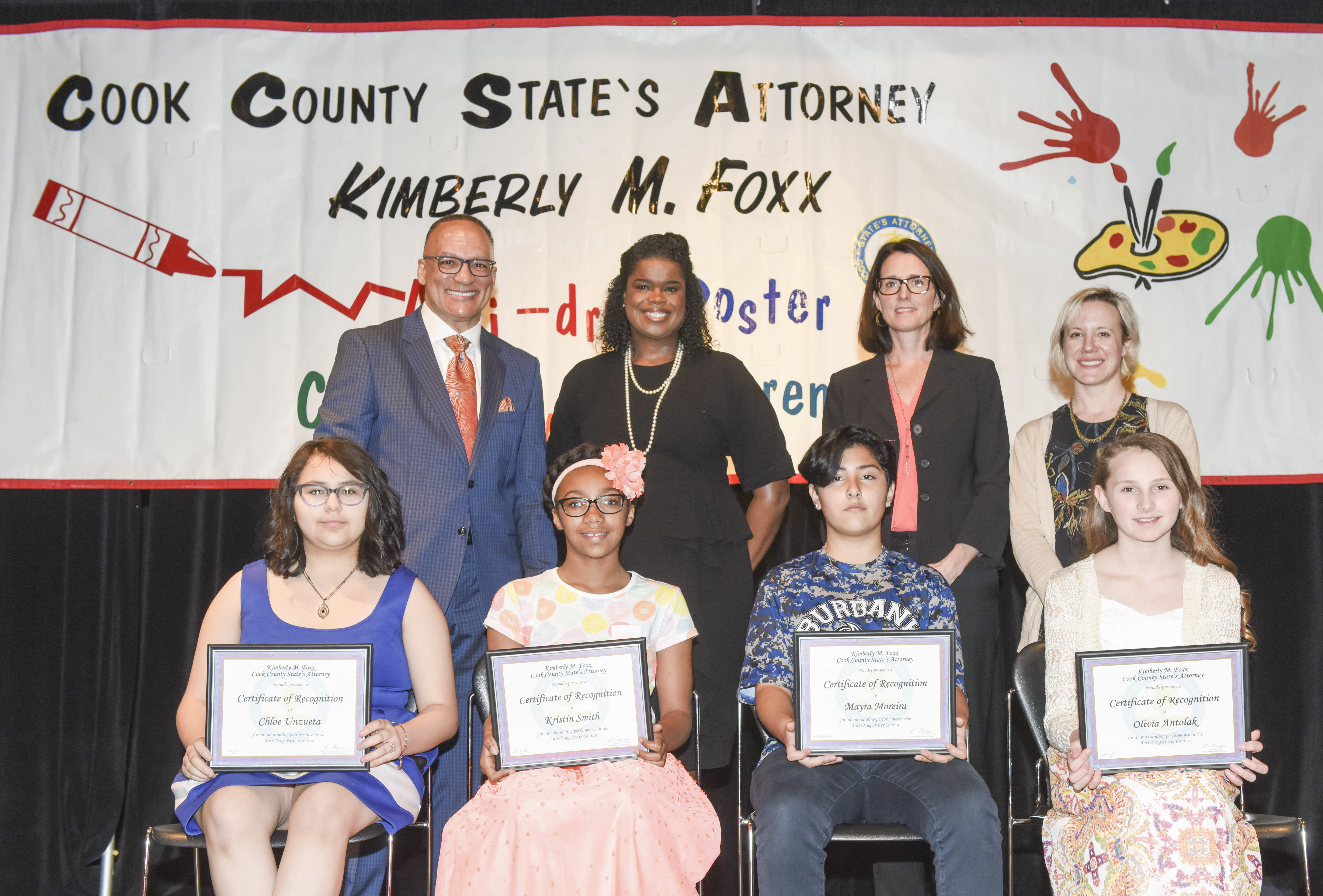 State's Attorney Foxx Honors Local Students with Awards